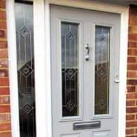 TPS | Recently fitted grey front door