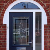 TPS | Recently fitted red front door