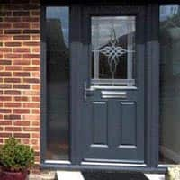 TPS | Recently fitted charcoal grey front door