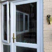 TPS | Recently fitted glass panel door