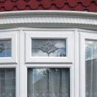 TPS | Recently fitted coloured motif windows