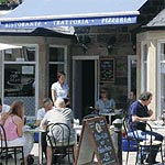 Cafes with Outdoor Areas in London
