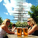 Beer Gardens in Greenwich