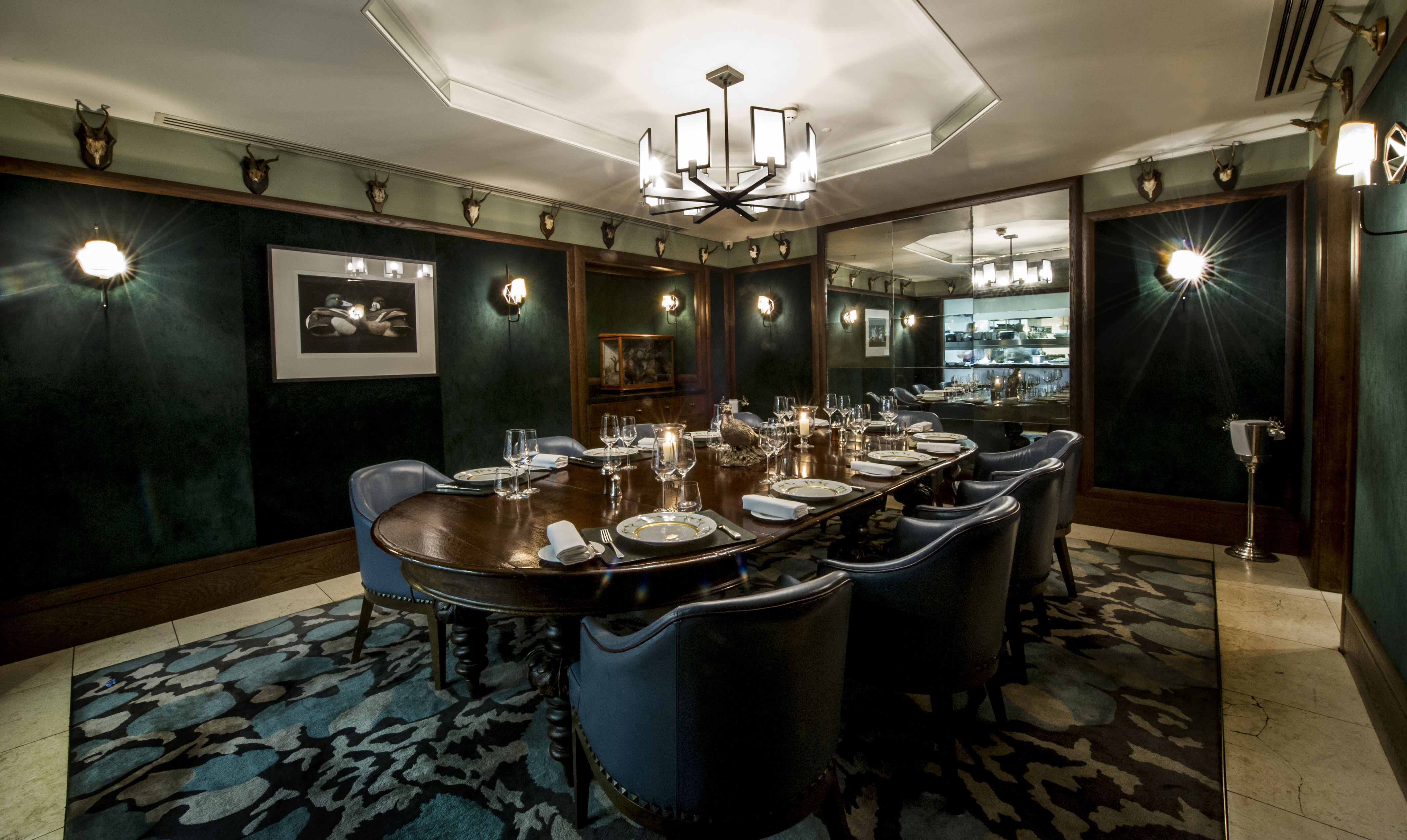 Corrigan 39 s mayfair image gallery and photos w1k 7eh for Private dining room 90277