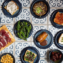 Lunch offer - 6 Tapas and a Carafe of House Wine
