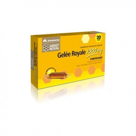 Gelee Royale 1000mg - 20 ampoules