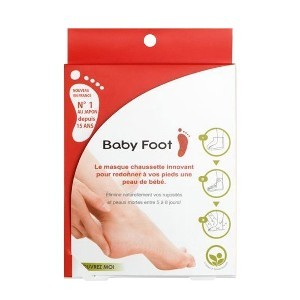 Baby Foot Easy Pack masque chaussette