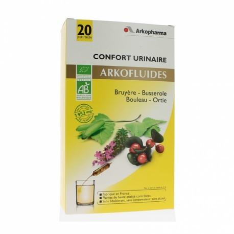 Arkofluides Confort Urinaire - 20 ampoules