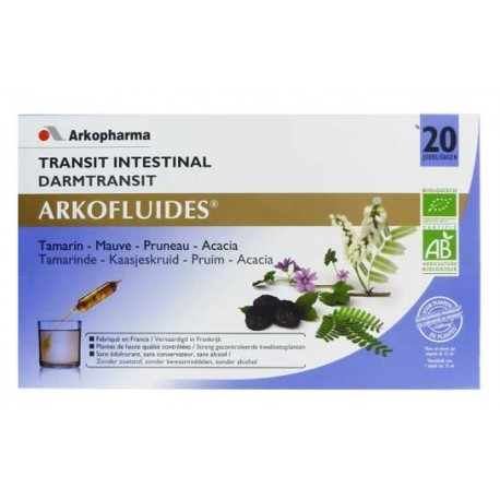 Arkofluides Transit - 20 ampoules