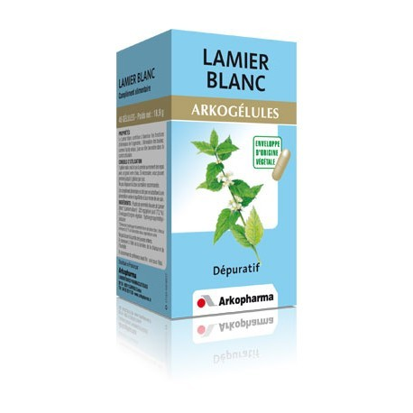 Arkogélules Lamier Blanc - 45 gélules