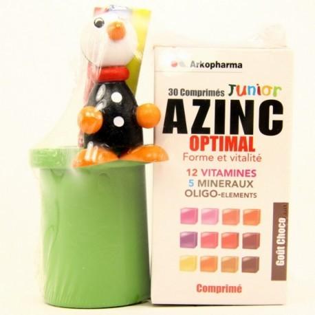 Azinc Junior  Chocolat - 30 comprimés + gobelet
