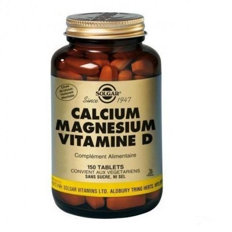 Calcium Magnesium Vitamine D - 150 Tabs
