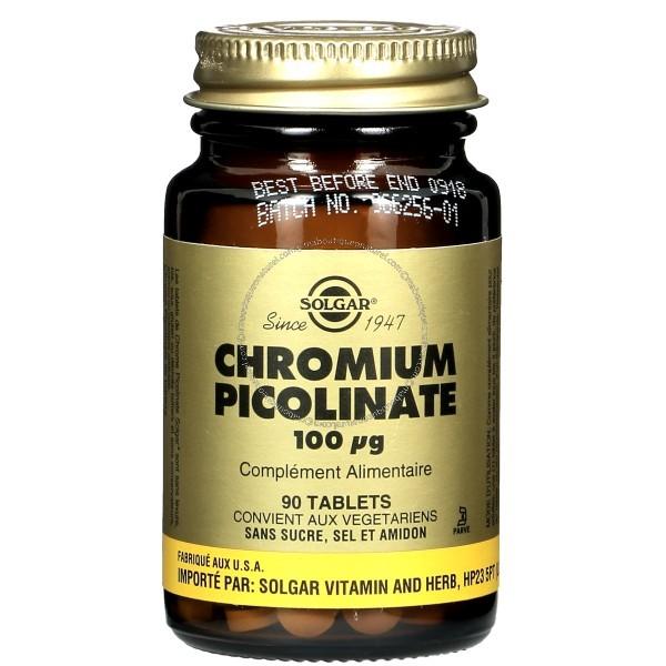 Chromium Picolinate 100 µg - 90 CP