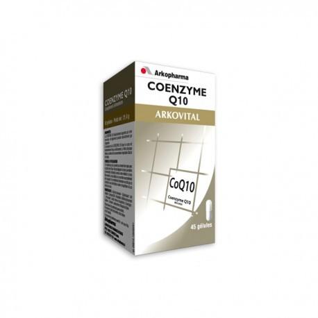 Coenzyme Q10 Flacon - 45 gélules