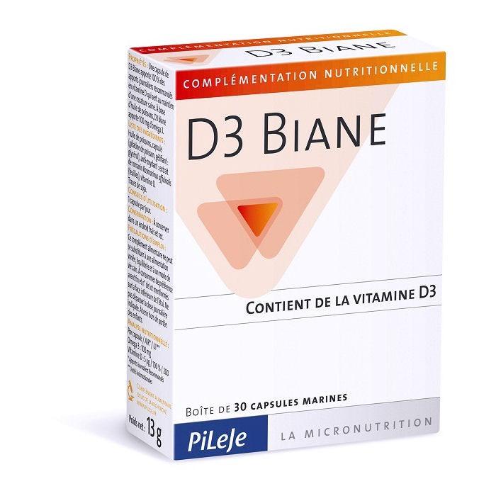 D3 Biane - 30 Capsules