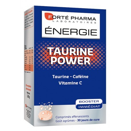 Energie Taurine power 30 comprimés effervescents