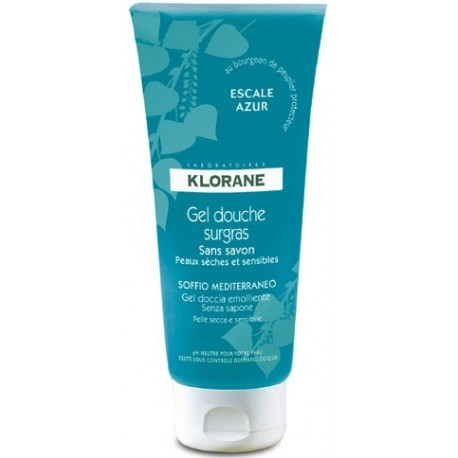 Gel douche surgras Escale azur - 200 ml