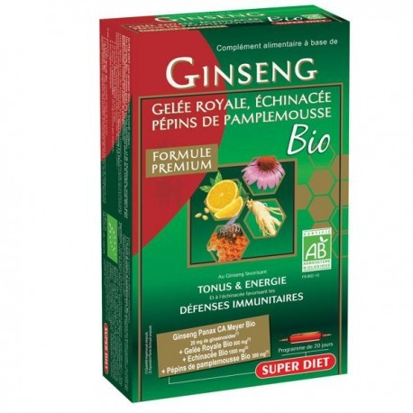 Ginseng Protect Bio - 20 ampoules