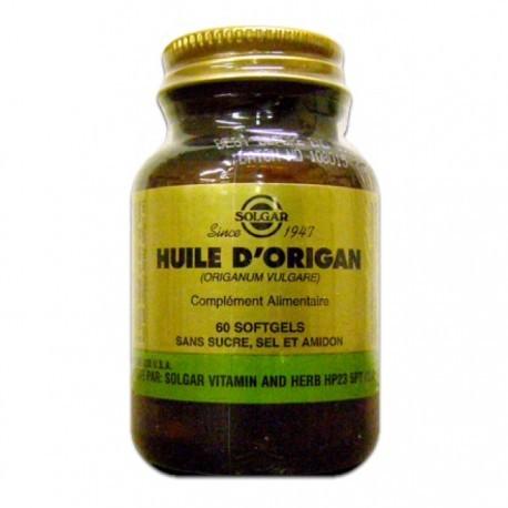 Huile d'Origan - 60 gélules