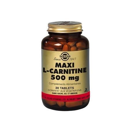 L-Carnitine 500 Mg 30 Tab