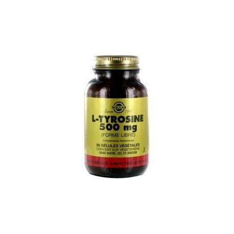 L-Tyrosine 500 Mg X 50