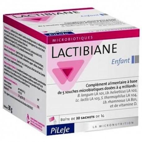 Lactibiane Enfant - 30 sachets 1g