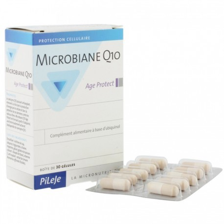 Microbiane Q10 Age Protect - 30 gélules