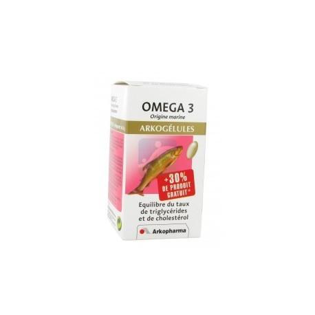 Omega 3 Huile de poisson - 60 capsules