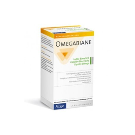 Omegabiane Capelan Bourrache - 100 capsules