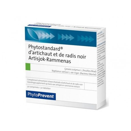 Phytostandard Artichaut Radis Noir - 30 comprimés