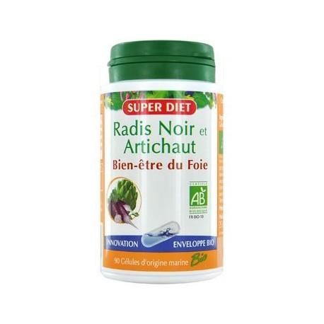 Radis Noir / Artichaut Bio - 90 gélules