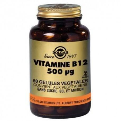 Vitamine B12 50ug - 50 gélules