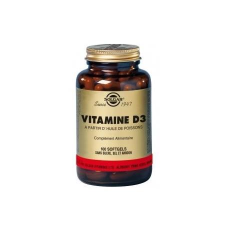 Vitamine D - SOLGAR