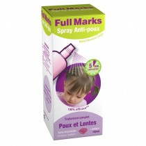 Full Marks Spray Anti-Poux (150ml) + Peigne