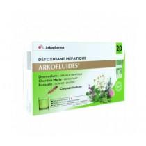 Arkofluide Bio Détoxifiant Hépatique - 20 ampoules