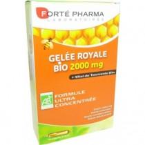 Gelée royale Bio 2000 mg - 20 Ampoules