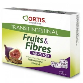 Fruits & fibres transit facile - 12 cubes