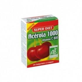 Acerola 1000 Bio - 24 comprimés