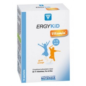 Ergykid vitamin' - 14 sachets