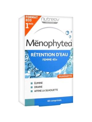 Ménophytea Silhouette Rétention d'Eau 60 Comprimés