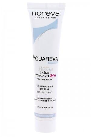 Aquareva Crème Hydratante 24h Texture Riche - 40ml