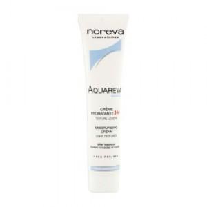 Aquareva Crème Hydratante 24h Texture Légère - 40ml