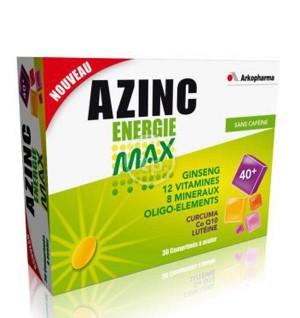 Azinc énergie max - 30 comprimés