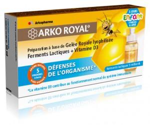 Arkogélules défenses enfant 5 doses - 10 ml