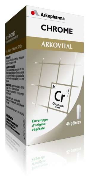 Arkovital Chrome - 45 gélules