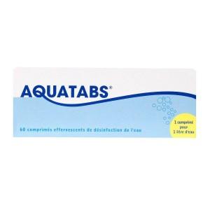 Aquatabs 1 Litre - 60 Comprimés