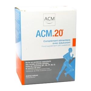 ACM 20 aliment contrôle du muscle - 10 sachets