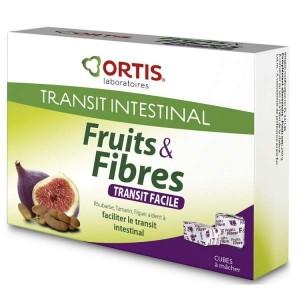 Fruits & fibres transit facile - 12 cubes