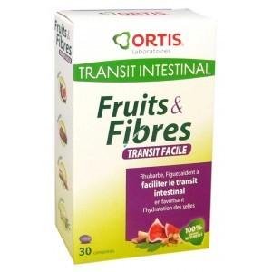Fruits et fibres transit facile - 30 comprimés