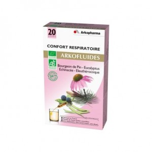 Arkofluides Confort Respiratoire - 20 ampoules